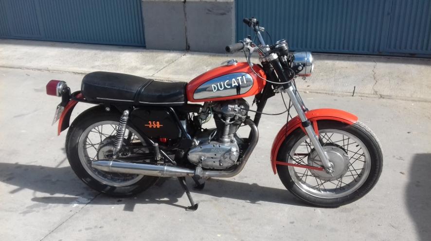 ducati 350 les annonces collection motos vendre. Black Bedroom Furniture Sets. Home Design Ideas