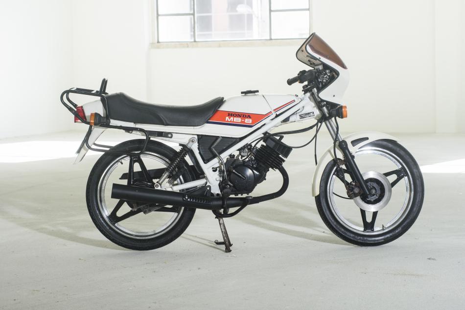 Test De Conduite >> Honda MB 8 - Les Annonces Collection | Motos à vendre