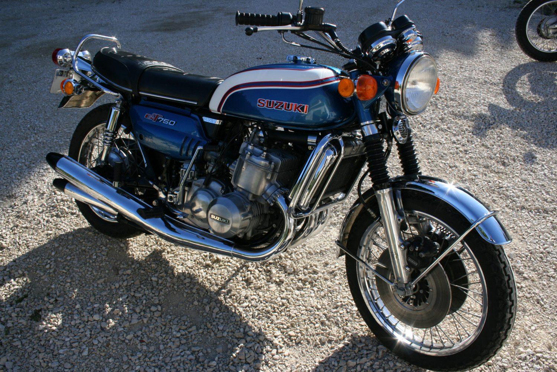 suzuki gt 750 k les annonces collection motos vendre. Black Bedroom Furniture Sets. Home Design Ideas