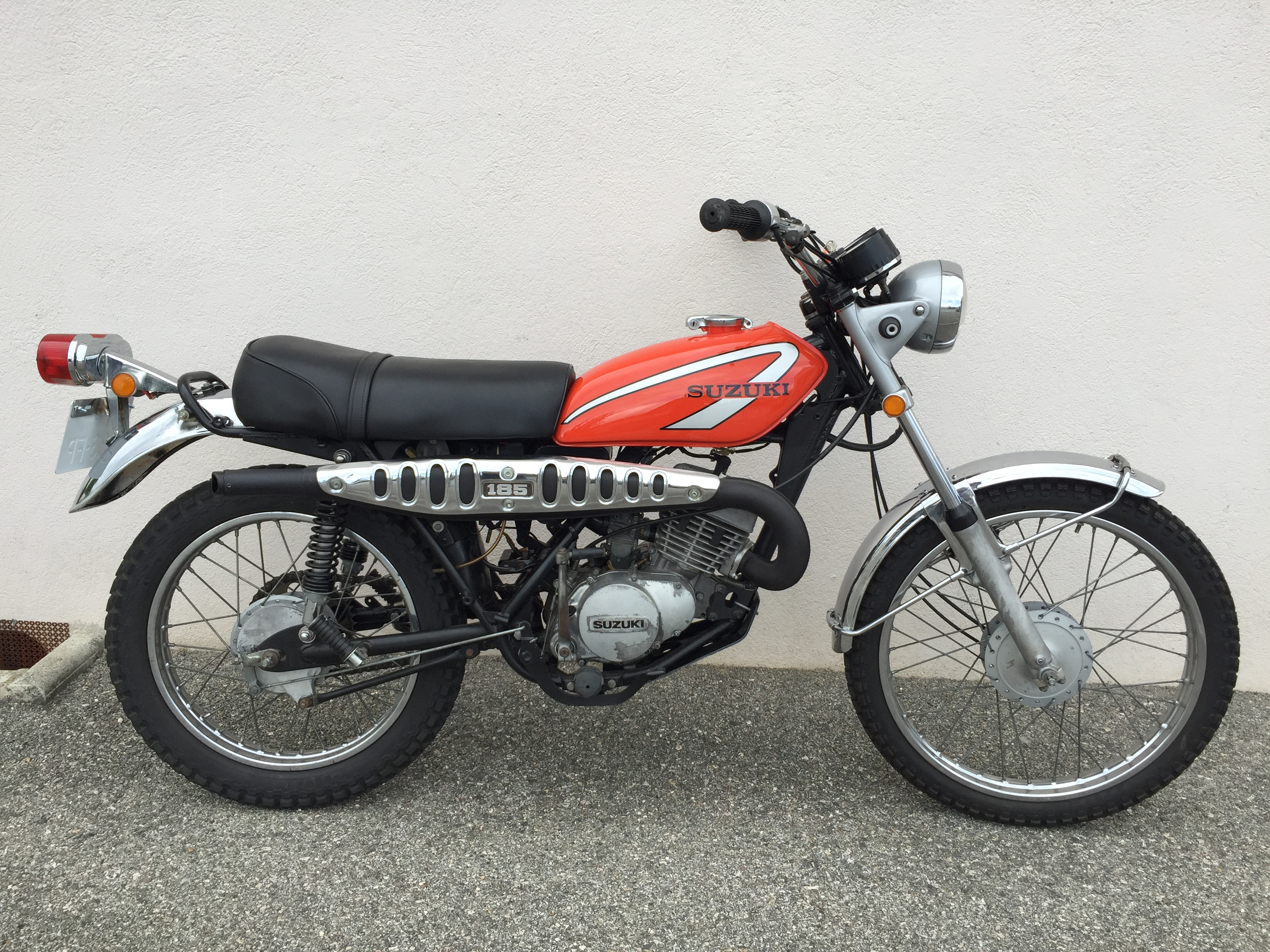 Suzuki TS 185 - Les Annonces Collection   Motos à vendre