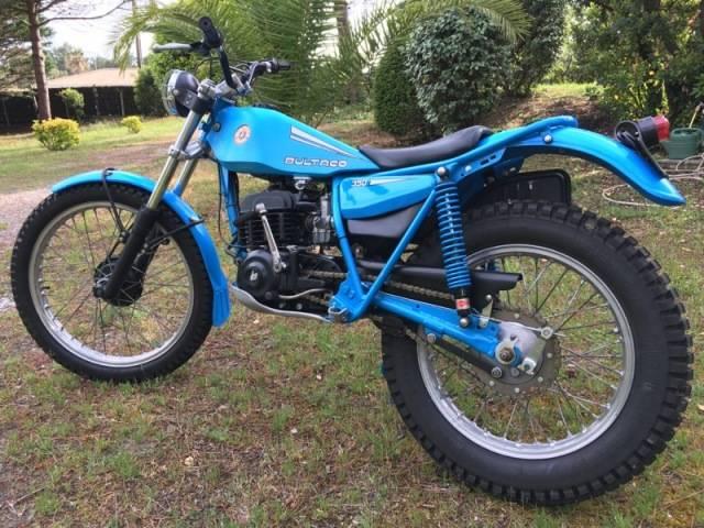 bultaco 350 trial les annonces collection motos vendre. Black Bedroom Furniture Sets. Home Design Ideas