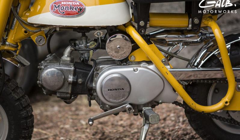 Honda Monkey Z50A plein