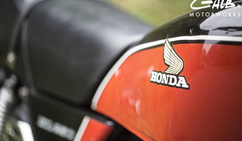 Honda 250XL plein