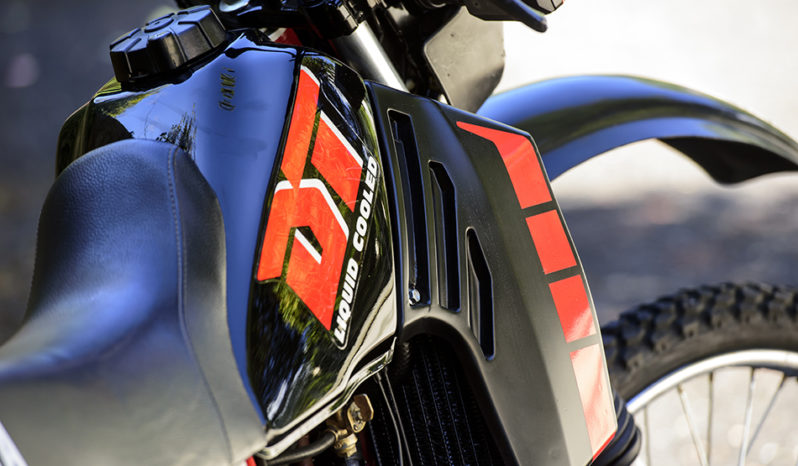 Yamaha DT 125 LC YPVS plein