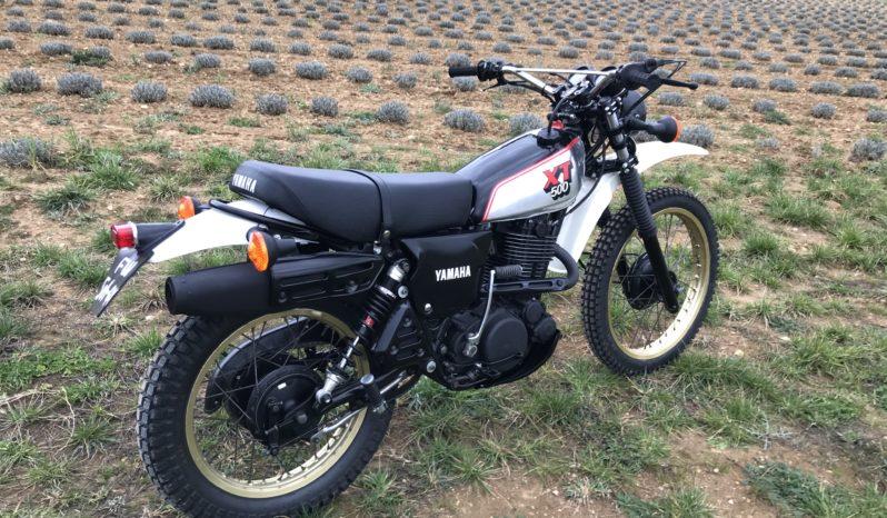 Yamaha xt 500 full