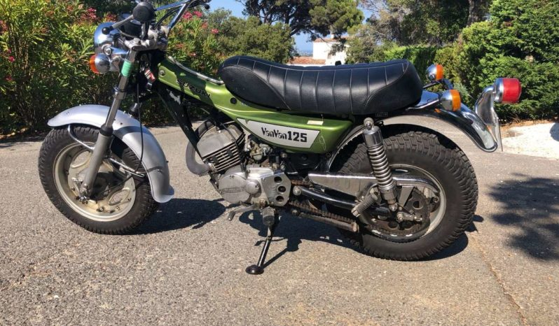 Suzuki VanVan 125 plein