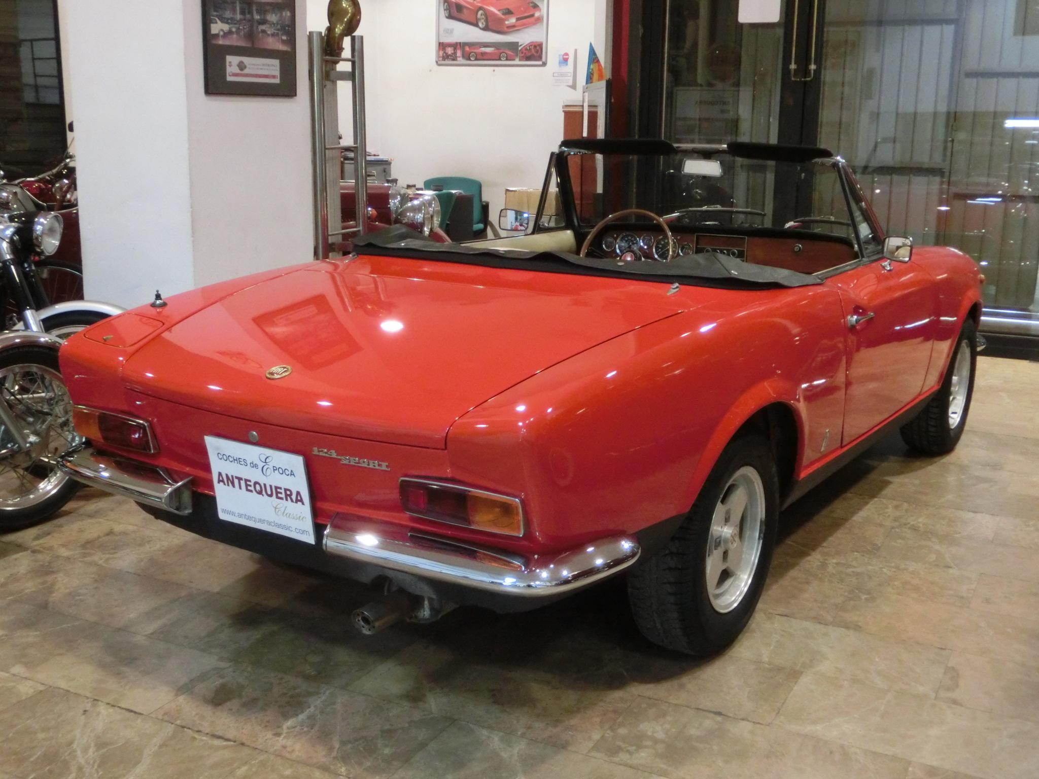 Fiat 124 Sport Spider 1600 Les Annonces Collection 1971 Full