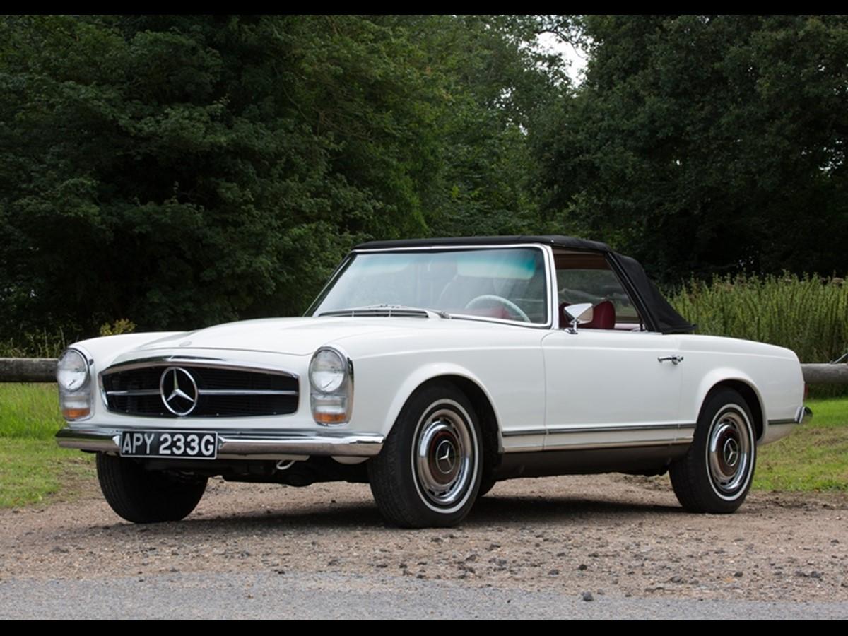 Mercedes benz 280 sl les annonces collection for Mercedes benz 280