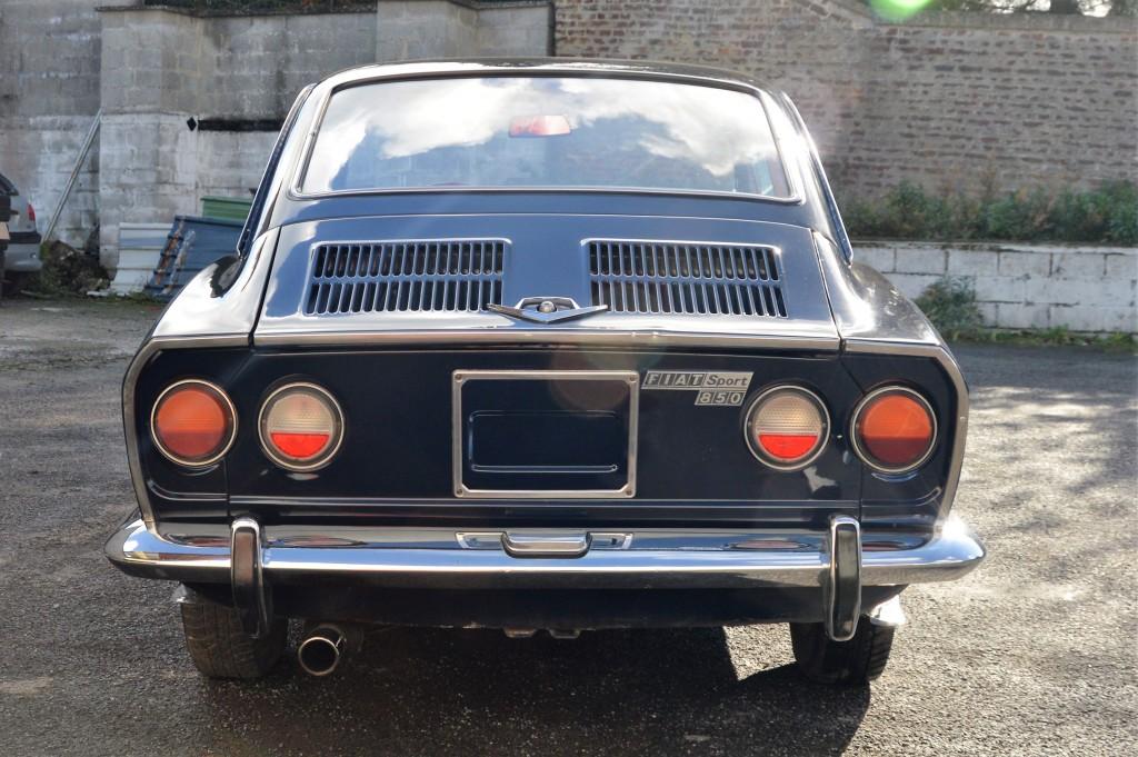 Fiat 850 sport les annonces collection - Fiat 850 coupe sport a vendre ...