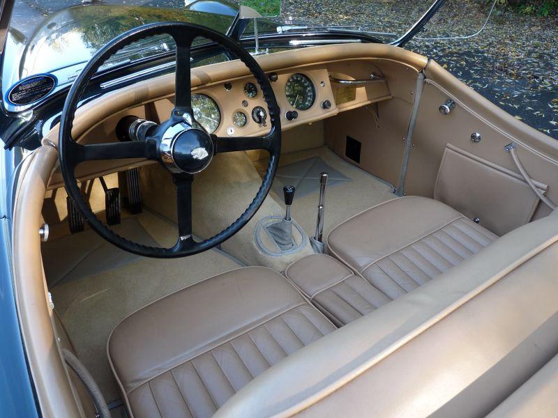 jaguar xk 120 roadster 3 4 ots