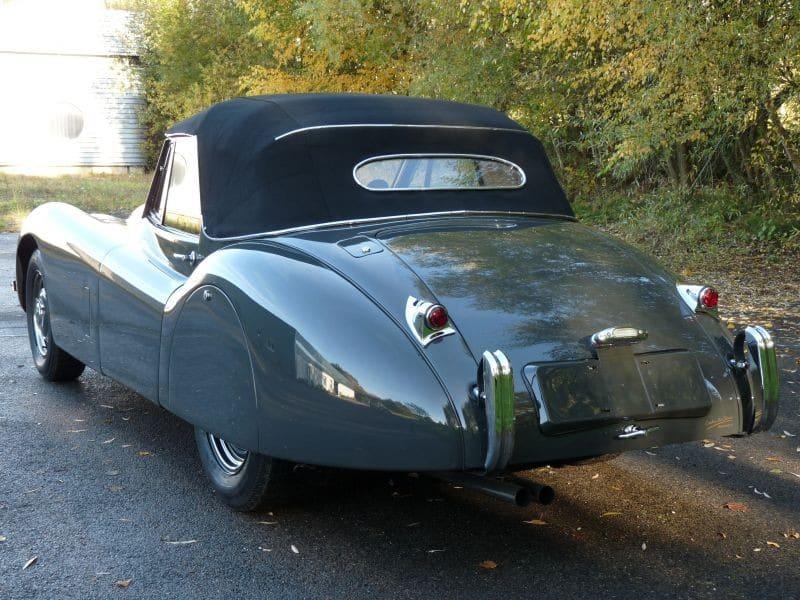 1952 Jaguar XK-120 Drop Head Coupe (convertible) for sale