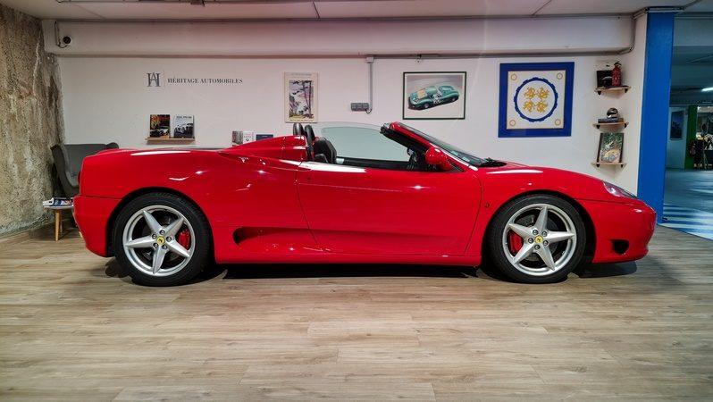 Ferrari 360 Spider full